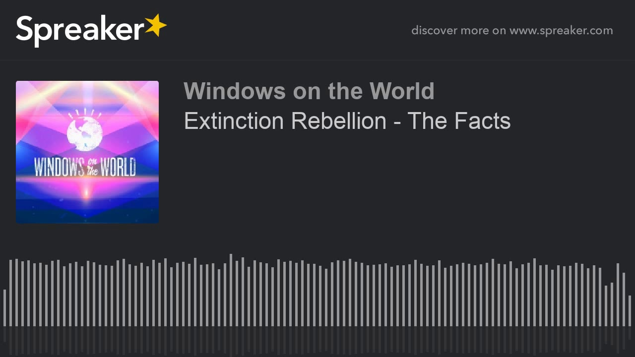 Extinction Rebellion - The Facts thumbnail