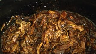 Slow Cooker Pulled Pork - Crock Pot Pulled Pork
