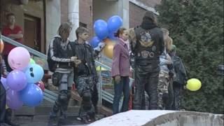 Смотреть видео День рожденья смайлика  Новости Санкт Петербург о Мотодонорах детям онлайн