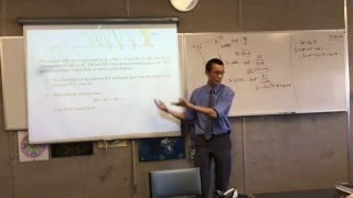 Geometry and Series & Sequences (2 of 2: Identifying and solving the hidden condition)