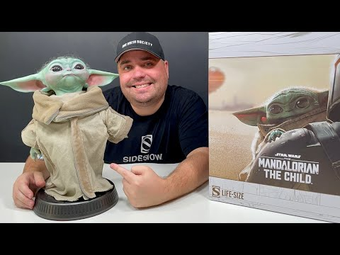 SIDESHOW BABY YODA - UNBOXING & REVIEW
