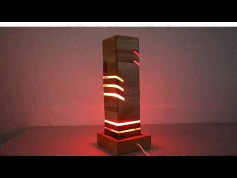 Wow !! Awesome Brilliant DIY Modern LED Desk Lamp & IDEAS