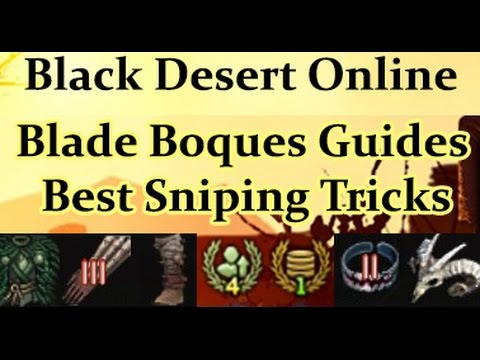 How to Snipe Boss Gear off the Marketplace - Black Desert Online