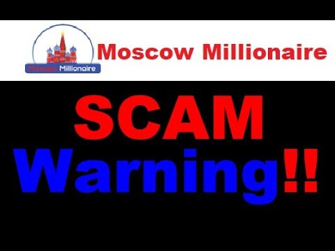 Moscow Millionaire Review - Pathetic Trading SCAM Exposed (WARNING)