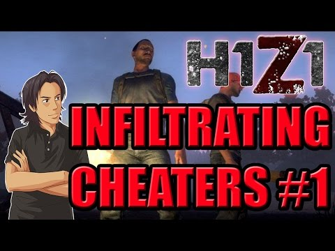 Mr.Grimmmz Plays H1Z1 Battle Royale - Infiltrating CHEATERS #1