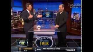 Pat Curcio on Yahoo! Sports Talk Live with Jim Kozimor - Oct. 15, 2013