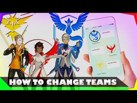 Pokemon GO - How To Change Teams
