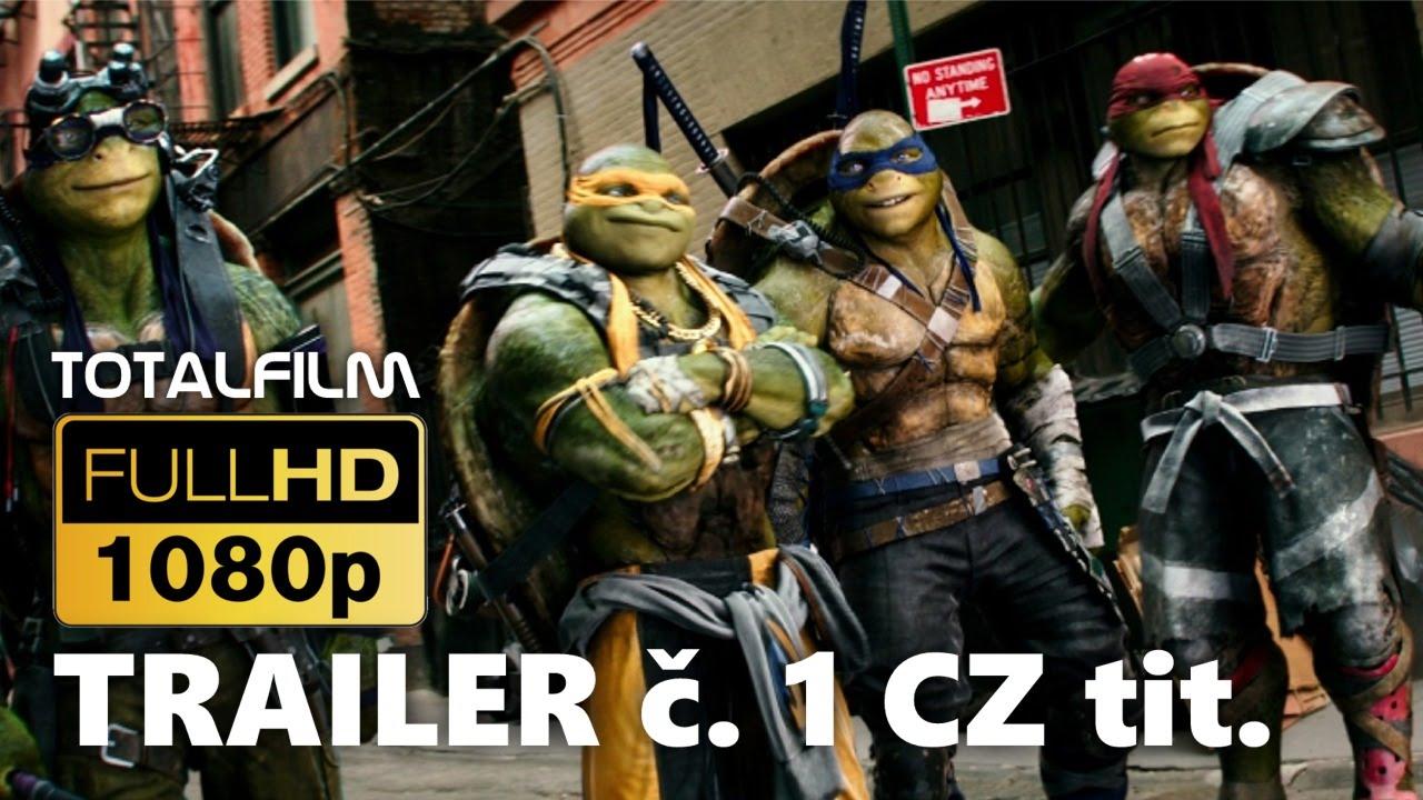 Želvy Ninja 2 (2016) CZ HD trailer 1.