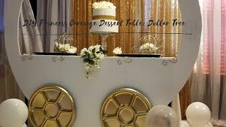 DIY Princess Carriage Dessert Table (Dollar Tree)