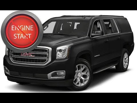 Gmc Yukon With A Dead Key Fob Get In And Start Push Button Start
