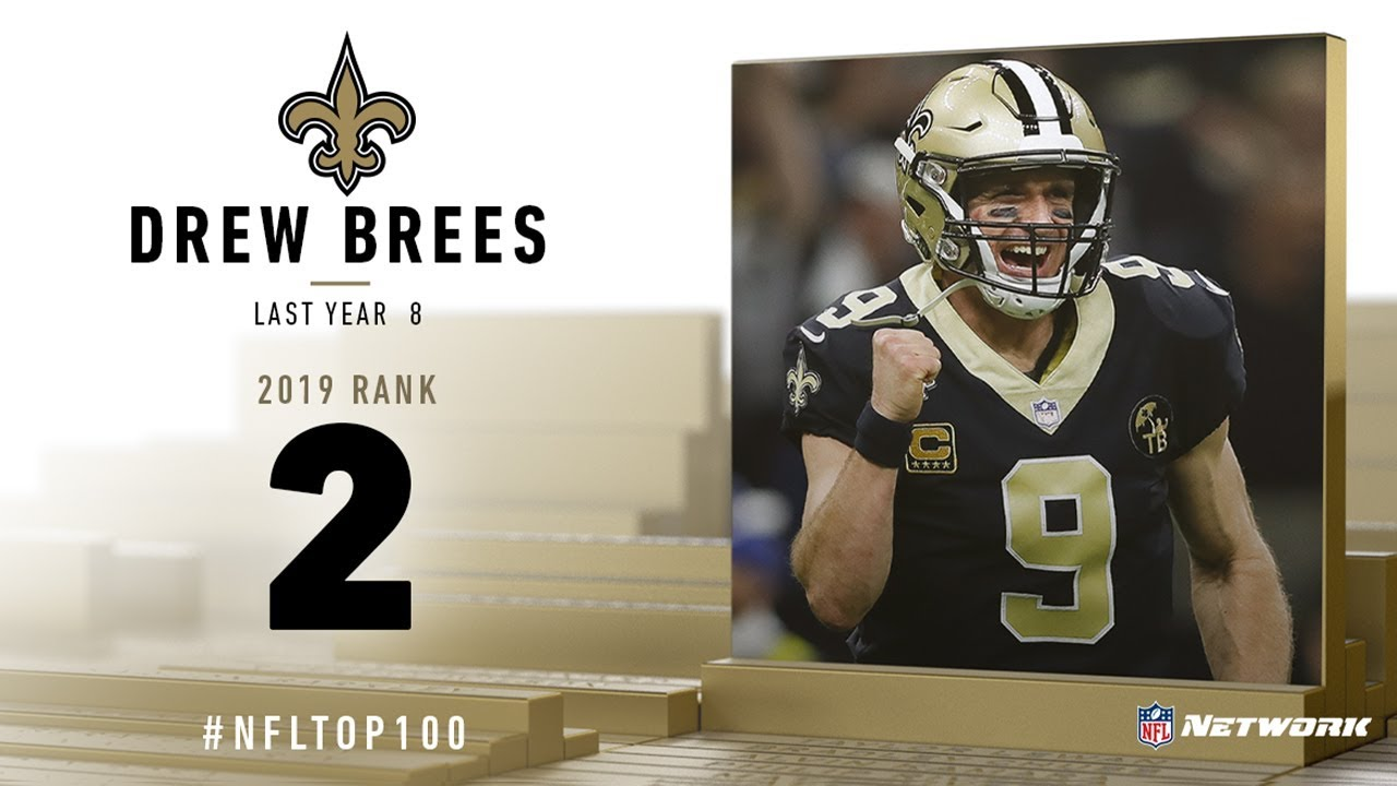 Drew Brees gets his due from NFL Top 100