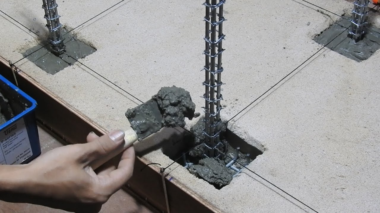 How to make the Foundations of a House - Build Foundations Pillars