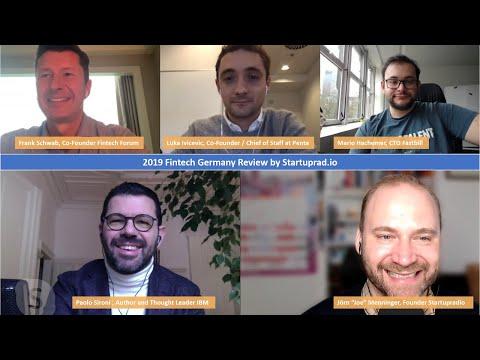 2019 Fintech Review Germany Talkshow By Startupradio