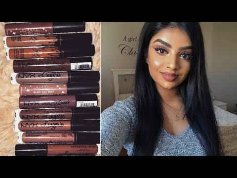 Top Brown/Nude Lipsticks for Medium Brown Skin tone (Indian/Tamil) | With Swatches