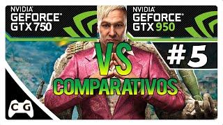 GTX 750 vs GTX 950 no Far Cry 4 - Teste Comparativo #5