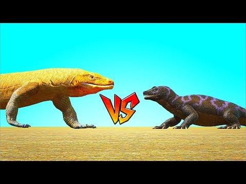Ark Survival - VARANIDAE vs MEGALANIA [Ep.130]