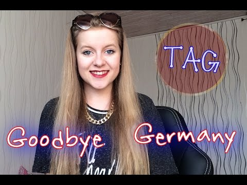 Goodbye Germany TAG   Au Pair (Original)