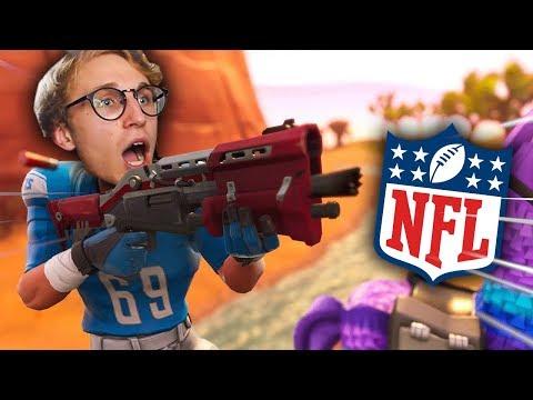 FORTNITE GOT NFL SKINS!