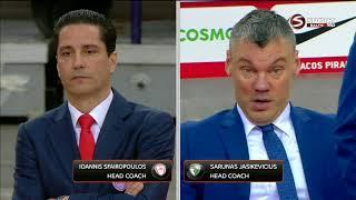 Euroleague Playoffs Olympiacos Kauno Žalgiris LT 2018 04 18