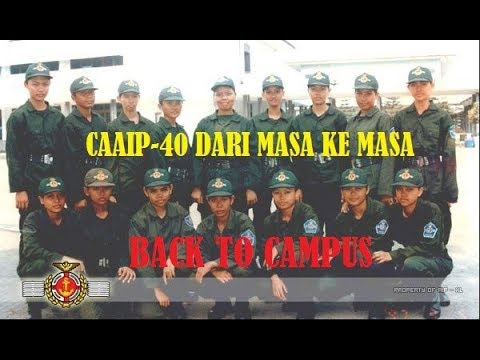 Taruna AKADEMI ILMU PELAYARAN Jakarta (CAAIP#40) - BACK TO CAMPUS
