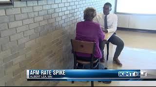 AFM Rate Spike