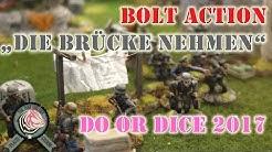 Bolt Action Spieltisch von Monstermaler auf der Do or Dice in Rendsburg