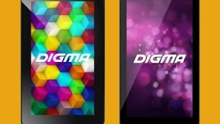 Digma optima 7,4 3g (TT7024MG) замена экрана и Touch(screen replacement LCD)