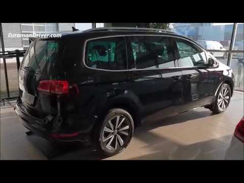 New Volkswagen Sharan 2019 Seven Seats MPV Walk-Around Review VW