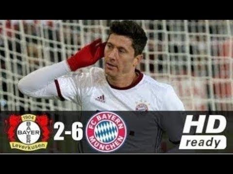 Bayer Leverkusen vs Bayern Munich 2 - 6  DFB Cup 17/04/2018