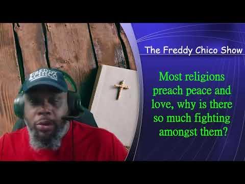 Religions Preach Peace & Love