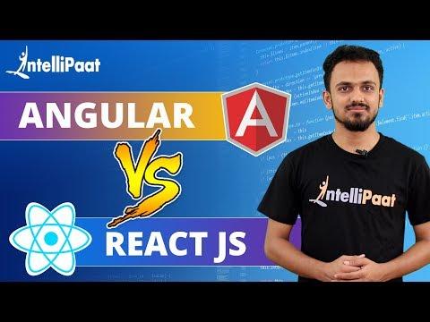 Angular vs React | Difference between Angular and React | Intellipaat