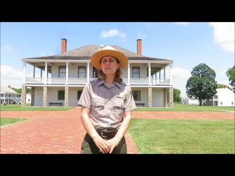 Art Day at the Fort Scott National Historic Site, Fort Scott, Kansas