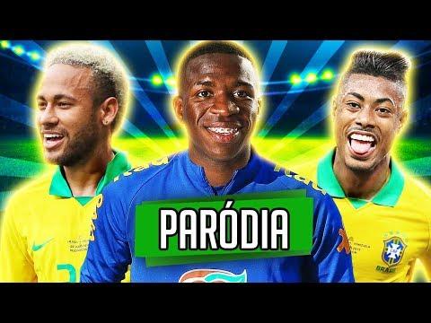 ♫ A NOVA SELEÇÃO BRASILEIRA | PARÓDIA ‹ RALPH +10 ›
