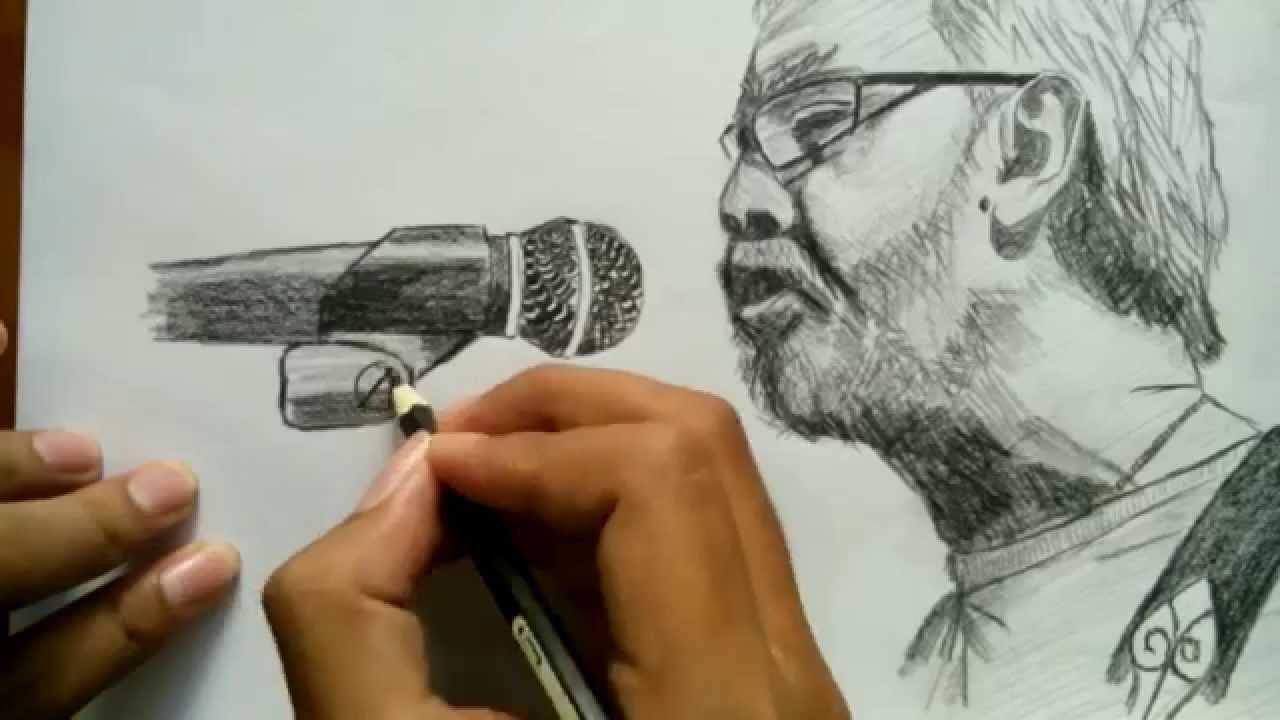 Cara menggambar wajah iwan fals pensil warna hitam how to draw iwan fals face with color pencil youtube