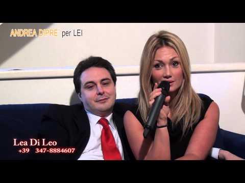 Lea di Leo invita a spruzzare all'ANDREA DIPRE' PER LEI