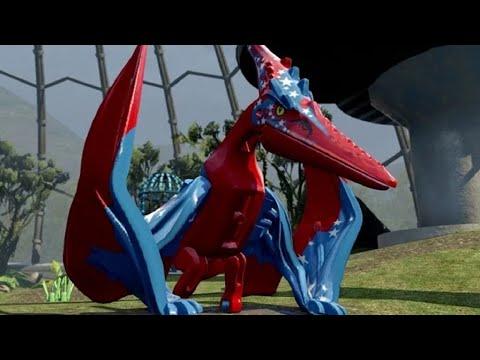 LEGO Jurassic World - Custom Dinosaur Creator - Pteranodon & Dimorphodon streaming vf