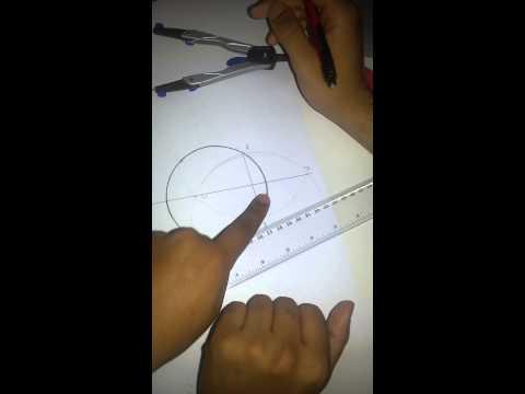 Hvordan man finder centrum af en cirkel