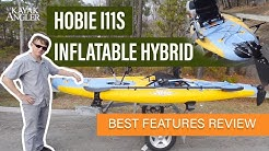 Hobie's i11s Inflatable Hybrid SUP | Review | Kayak Angler | Rapid Media
