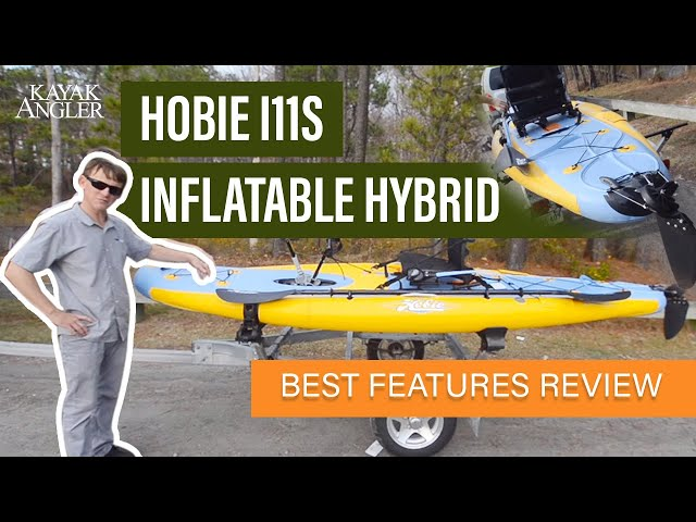Hobie i11s Inflatable Hybrid 🎣 Fishing SUP 📈 Specs & Features Review and Walk-Around 🏆