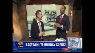 Michael Jurick auf Fox5 Guten Tag BIN - How, um die Besten Holiday-Karte