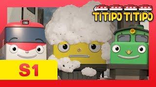 Titipo S1 EP16 l A new train Loco hates Titipo and friends?!  l Titipo Titipo MP3