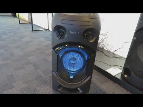 3bd92c013 Sony MHC-V21D (apresentando o aparelho) - YouTube