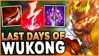 ENJOYING WUKONG AS A CANNON MINION BEFORE THE REWORK - League of Legends