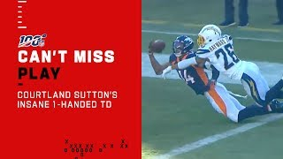 Courtland Sutton's INSANE 1-Handed TD Catch!