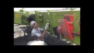 "Монтаж жатки для уборки подсолнечника ""Лифтер"" (CLAAS)"
