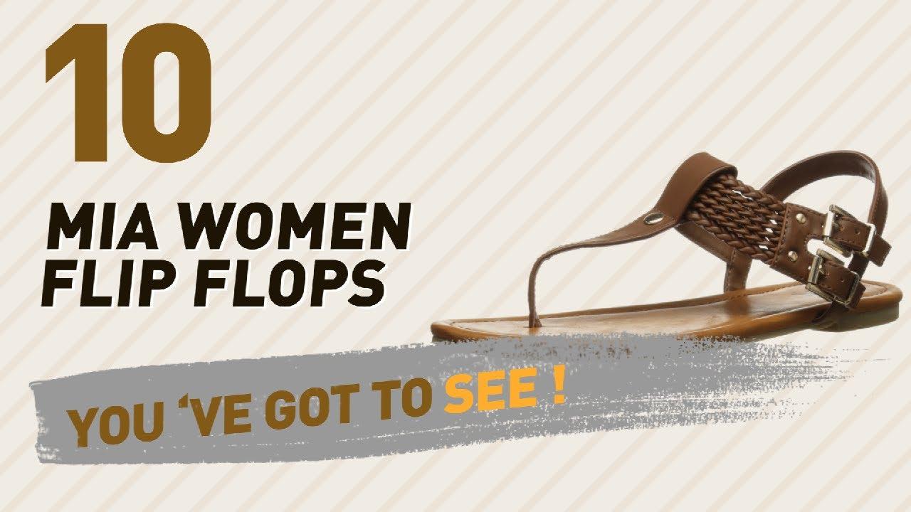 941af66b64a899 Mia Women Flip Flops    New   Popular 2017 - YouTube