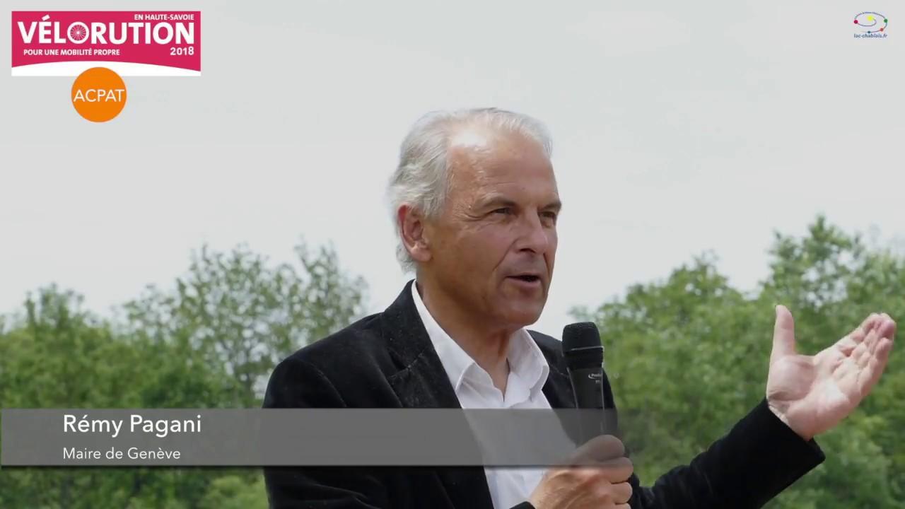 Agrovélorution Chablais 2018 - Rémy Pagani, Maire de Genève