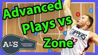 Advanced Basketball Plays vs Zone Defense