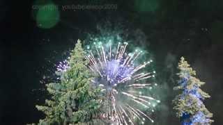 Новогодний салют 2014. Площадь Куйбышева в Самаре