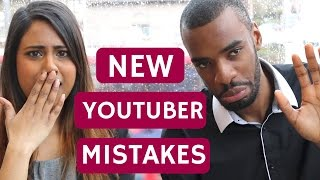 New Youtuber Tips: COMMON MISTAKES NEW YOUTUBERS MAKE